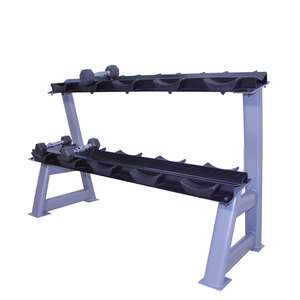 2-TIERS DUMBBELL RACK WITH SADDLE
